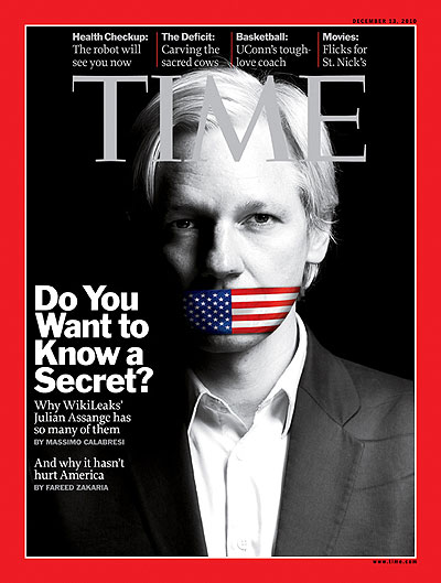 Time Mag Cover 2010 12 13 Julian Assange